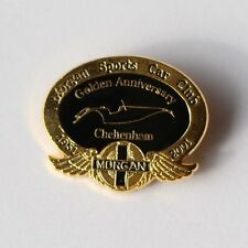 Morgan Sports Car Club Golden Anniversary Cheltenham 1951-2001 Enamel Pin Badge