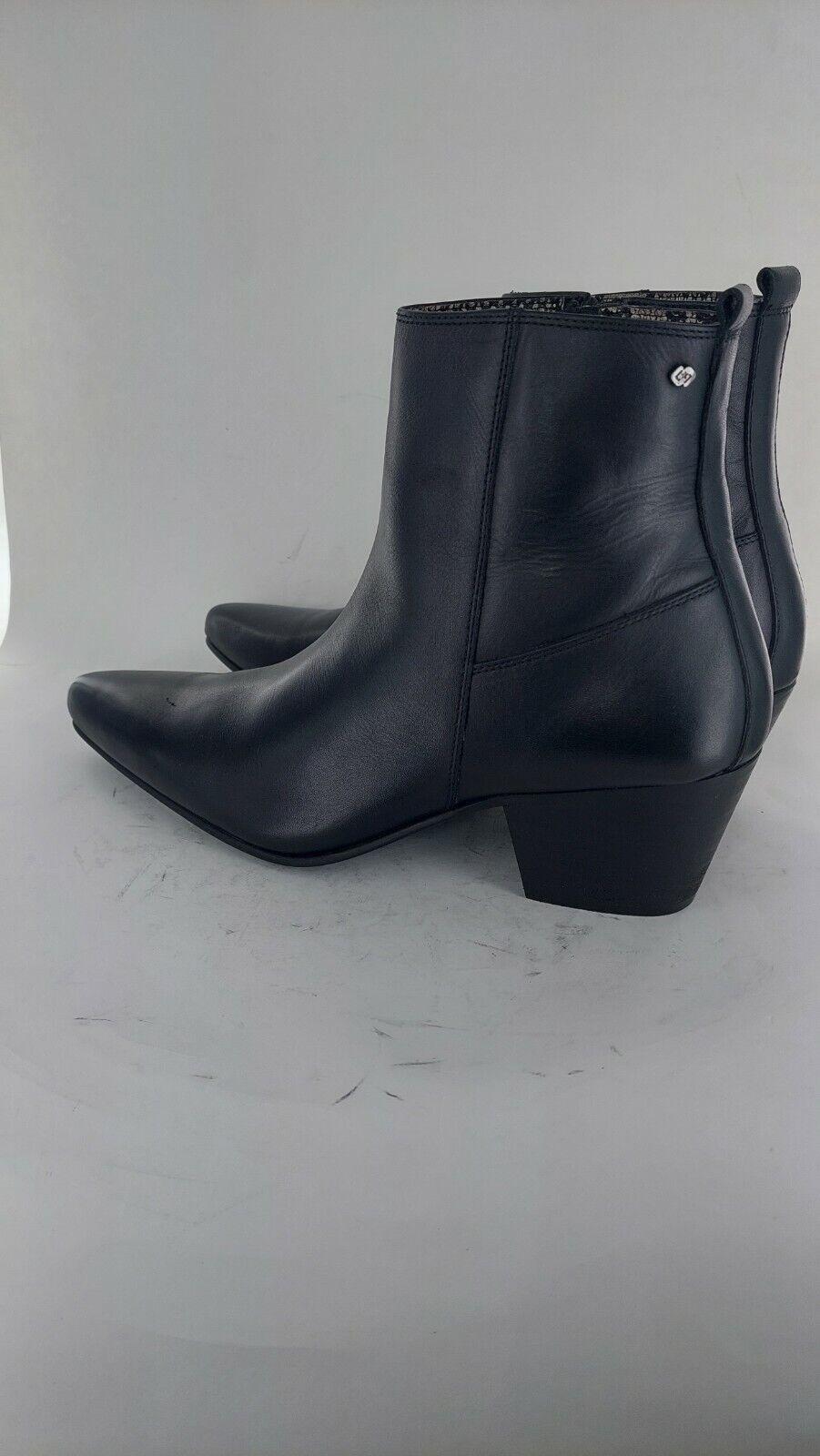 Club Cubano LENNON Mens Formal Leather Winklepicker Cuban Heel Boots Uk 8#780