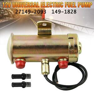 27149-2093 149-1828 Fuel Pump 12V Electric Universal For Large Carburetor Engine