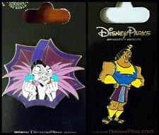 Disney Parks 2 Pin Lot Yzma villain + Kronk - Emperor's New Grove