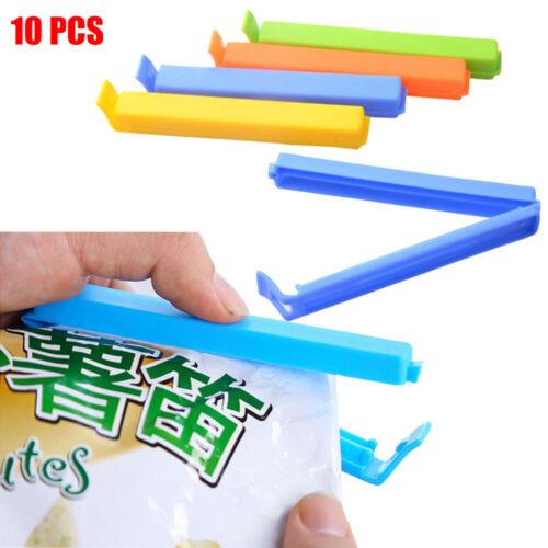 Quality Plastic Food Snack Storage Tool Bag Clip Closer Sealer Sealing Clamp
