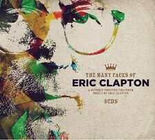 Many faces of Eric Clapton 3 CD NUOVO