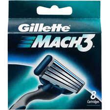 Gillette Mach3 8 Cartridges Shaving Blades for Razor Packet