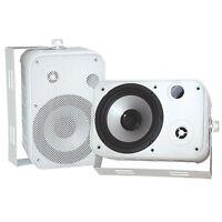 Pyle Pdwr50w 6.5 Indoor/outdoor Waterproof Speakers (white) (pair)