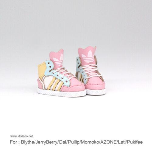 Retro Sports Shoes/_ICE Pink for Blythe//DAL//Pullip//Momoko//AZONE//Lati//Pukifee