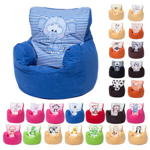 Image Is Loading Childrens Character Filled Beanbag Kids Bean Bag Chair