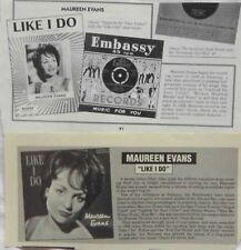MAUREEN EVANS : CUTTINGS COLLECTION