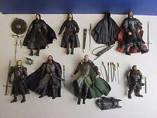 LOTR Il Signore degli Anelli Action Figure ARAGORN Gimli Legolas Boromir LOTTO SET o88