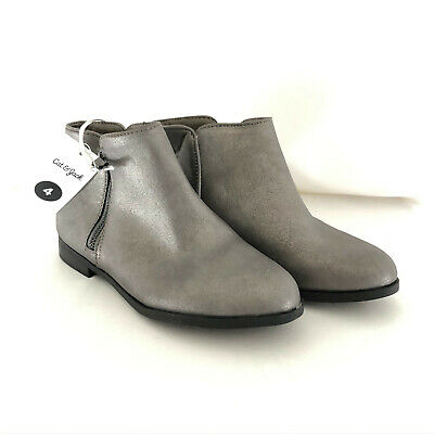 Cat /& Jack Girls/' Jani Metallic Ankle Boot