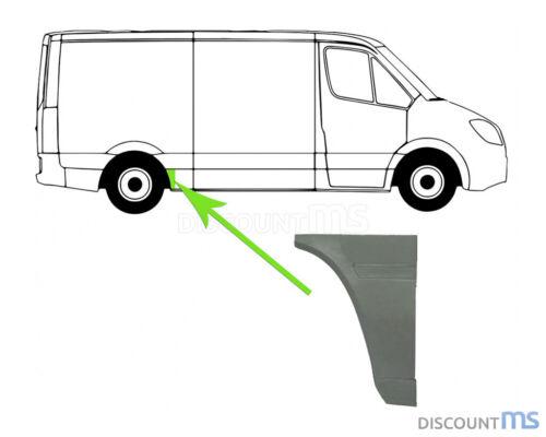 RUOTA posteriore 250x440 mm a destra per Mercedes Sprinter 2-t bus riquadro 95-06
