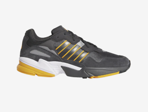 Adidas Originals ADIDAS ORIGINALS YUNG-96 G28996 Grey Carbon Collegiate gold c1