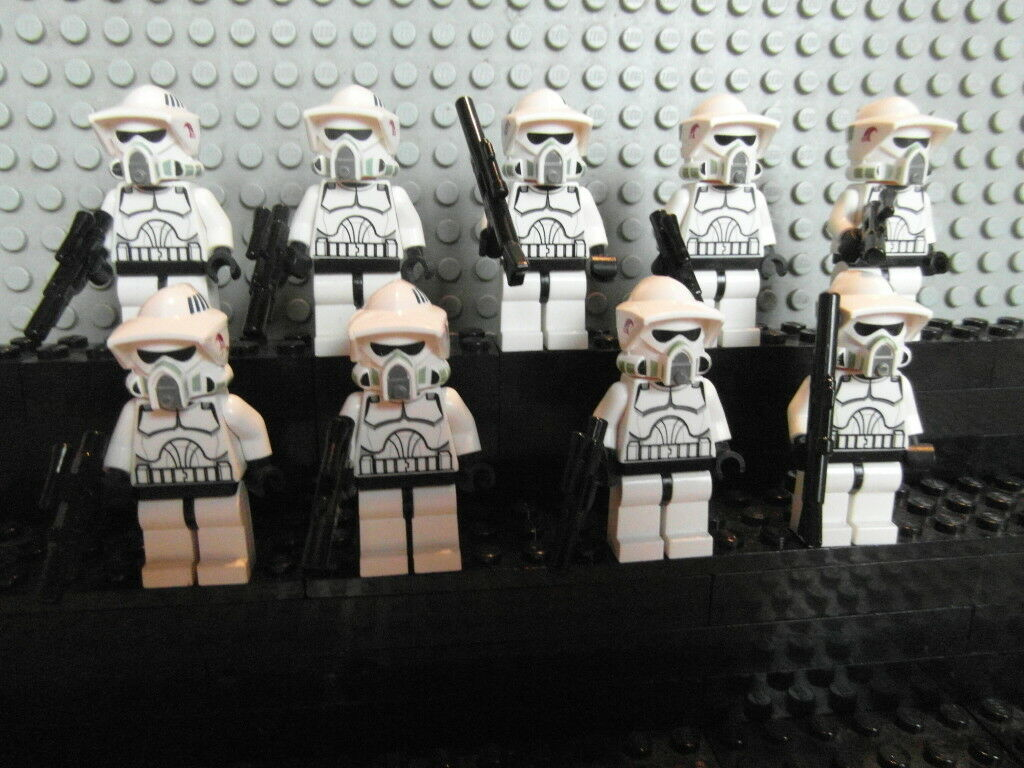 LEGO Star Wars Figuren Scout Trooper 9Stück Original Lego