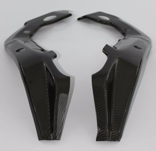 Carbon Fiber BMW S1000RR HP4 Frame Protector Covers 2009-2014