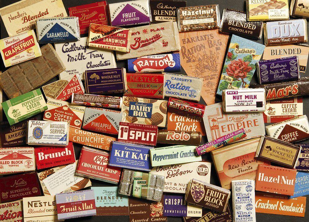 Gibsons Sweet Memories Memories Memories of the 1940's jigsaw puzzle. (1000 pieces) 18261c