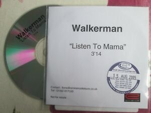 Walkerman-Listen-To-Mama-Eminence-Records-UK-Promo-CD-Single
