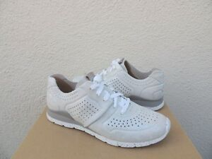 791e2ef7b1c Details about UGG SILVER TYE STARDUST PERFORATED LEATHER FASHION SNEAKERS,  US 9/ EUR 40 ~NIB