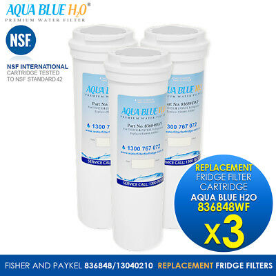 Suits for Fisher /& Paykel Fridge E522BXU Replacement Water Filter 836848