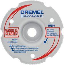 New Dremel Sm600 Saw Max 3 Wood Amp Plastic Flush Cut Carbide Wheel Attachment