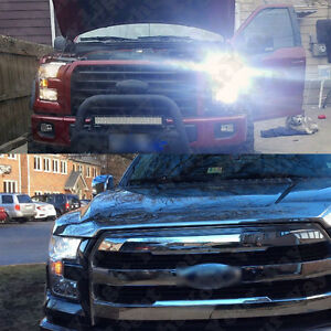 Image is loading 2015-2016-2017-F150-6000k-White-LED-Low- & 2015 2016 2017 F150 6000k White LED Low Beam Headlight Lights ... azcodes.com