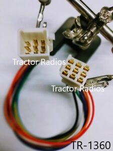 Kubota RTV-X1100C Side By Side Radio Wiring Harness MALE FEMALE Plug CD  Tractor | eBayeBay