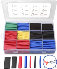560pcs 2 1 Heat Shrink Tubing Kit Dual Wall Adhesive Marine Tube Electrical Wire