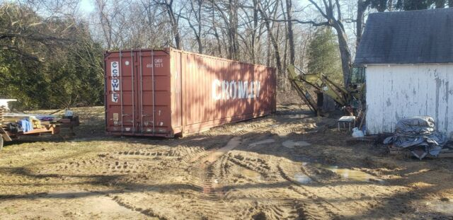 40 Shipping Containers For Sale Ebay >> Shipping Container 40ft High Cube 9 6 Wind And Watertight For Storage