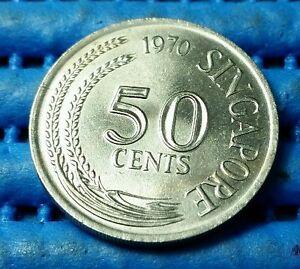 1970-Singapore-50-Cents-Lion-Fish-Coin