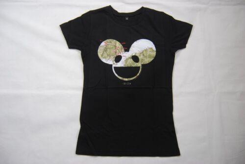 Deadmau 5 ibiza carte femmes skinny t shirt nouveau officiel producteur de musique dj summer