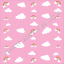 "GORGEOUS /""FANTASY RAINBOW  UNICORN/"" PRINTED  FABRIC SHEET..HAIR BOWS//GLITTER"