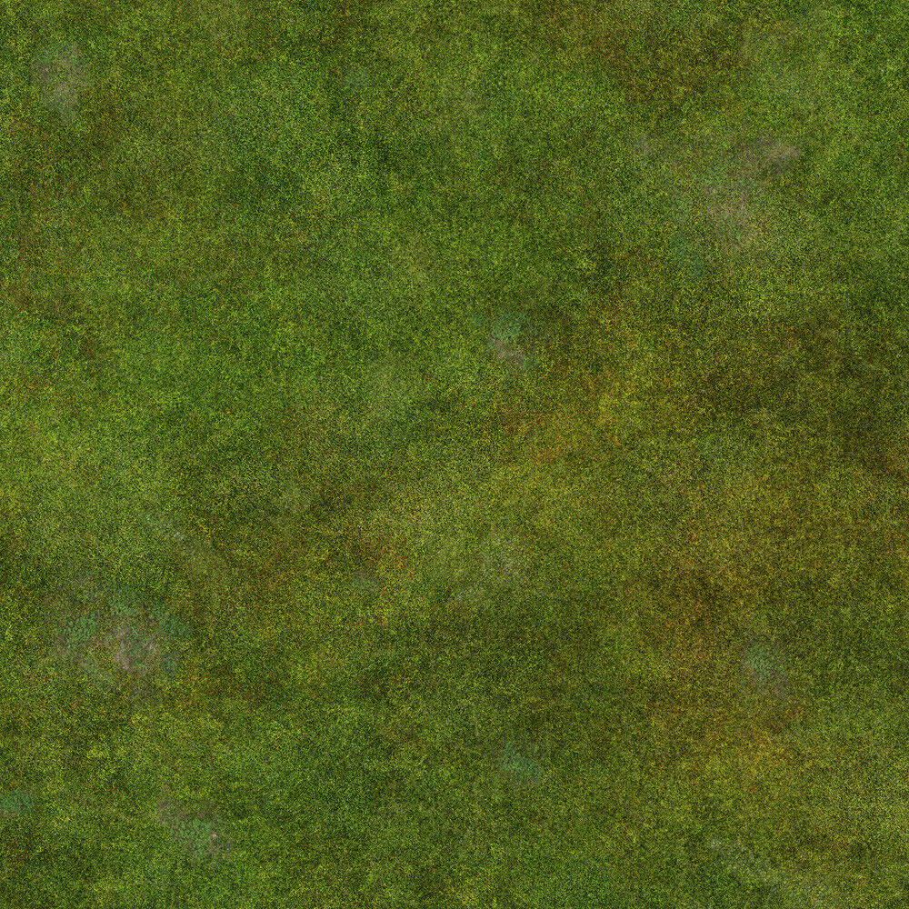 Terrain Battle Mat 3'x3' PVC Grass design for tabletop war gaming miniatures