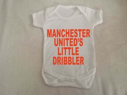Manchester united little dribbler vest up to 18 months sizes available