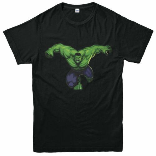 Hulk T-shirt marvel avengers legends Action Endgame Adultes /& Enfants Tee Top