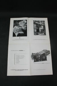 Age Print Kamenzer Machine Factory Advertising Vintage Collector