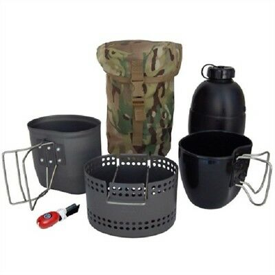 BCB Crusader MK II Cooking System 4 Piece Set Cadet Army Military Fishing Camp