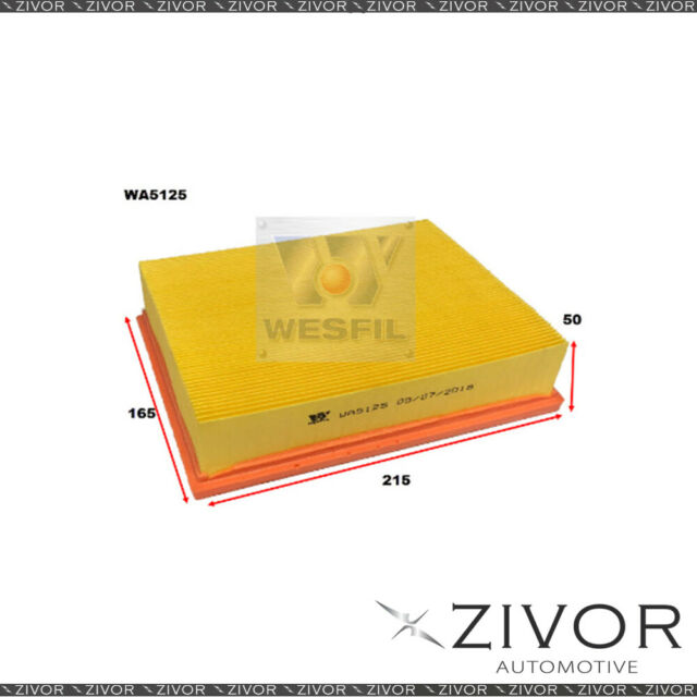 Wesfil Air Filter For Mercedes Benz A200 2.0L 05/05-06/10 - WA5125 *By Zivor*