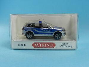 WIKING-010449-VW-TOUAREG-POLIZEI-1-87