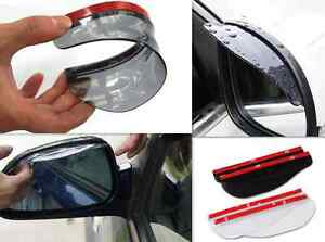 2-Pcs-Universal-Rear-View-Black-Side-Mirror-Rain-Snow-Shield-For-Car-Auto-Black