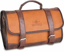 Vetelli Hanging Toiletry Bag for Men - Dopp Kit / Travel Accessories Bag