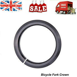 Bicycle Tapered Fork Open Crown Race Replacement Headset Base for 1.5