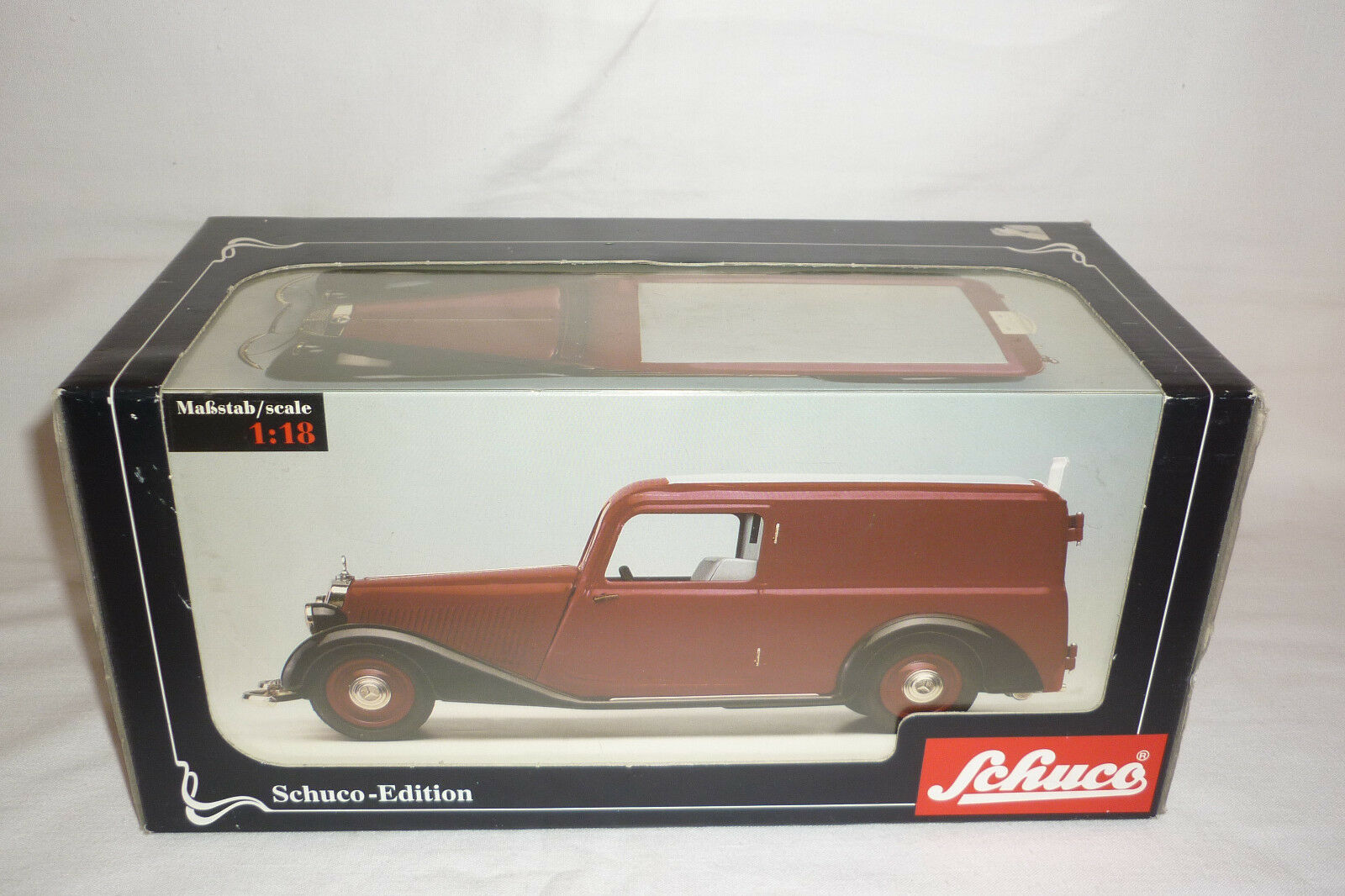 Schuco - Tin-Toy Classic Car - Mercedes Benz 170 V - Ovp - (2.schuco-12)