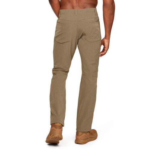 MEN/'S UNDER ARMOUR TACTICAL GUARDIAN PANTS STORM CARGO UTILITY BROWN BLACK