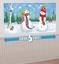 Christmas-amp-Winter-Party-Supplies-Swirls-Honeycomb-Scene-Setters-Snowman-Strings miniatuur 30