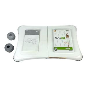 Wii Balance Board w/ Wii Fit Game Bundle - EUC - Tested - Free + Fast Shipping