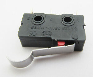"""MINI Micro /""""R/""""  Hooked Lever Switch Open//Close 5A"""