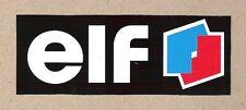 Elf Formula One F1, 24 Hours Le Mans Sticker, Vintage Sports Car Racing Decal