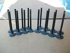 Honda H22 H22A1 H22A4 Prelude VTEC DOHC black nitride valves set of 16 new!