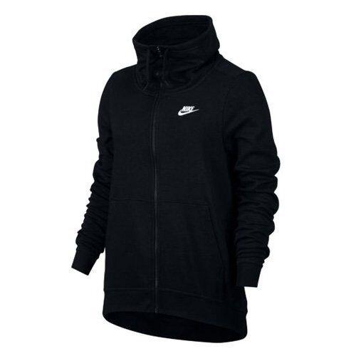 Nike Mujeres Cuello de embudo de ropa deportiva con capucha 895209 010 pequeñas