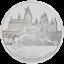 Niue-2-Dollar-2020-Harry-Potter-Classic-1-Hogwarts-Castle-1-Oz-Silber-PP thumbnail 2