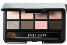 Bobbi Brown Mini Eye Shadow Palette Great W/ Lipstick Gloss Liner Blush Brush
