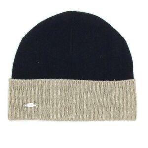 b474f08ac30bb  99 CALVIN KLEIN MENS UNISEX BLACK RIBBED CUFFED HAT WINTER WARM ...